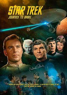 Star Trek: Journey to Babel Star Trek 1966, Star Trek Tv, Star Wars, Star Trek Wallpaper, Star Trek Original Series, Star Trek Series, Tv Series, Science Fiction, Akira