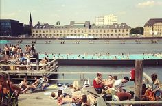 The World's Most Beautiful Public Swimming Pools World's Most Beautiful, Swimming Pools, Berlin, Dolores Park, Germany, Public, Europe, Travel, Swiming Pool