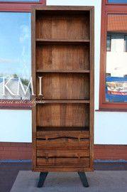 """biblioteczka """"Organic Loft"""" light walnut - meble z akacji"""