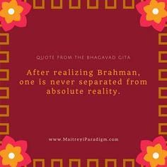 Inspiring Quotation from The Bhagavad Gita