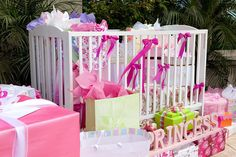 Crib with Gifts