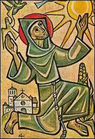 Resultado de imagen para dibujos de san francisco de asis a lapiz