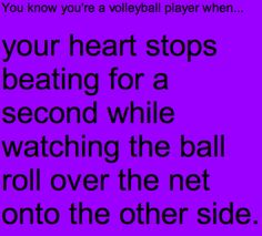 My heart definitely stops when this happens in vb!
