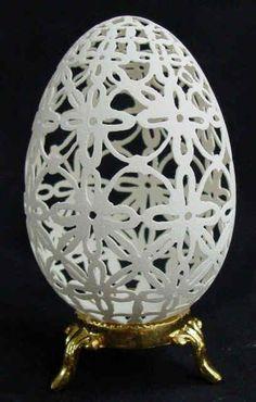 Lace Design Goose Eggs