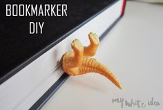 Try these easy craft tutorials for making bookmarks out of stuff you'll find lying around the house.