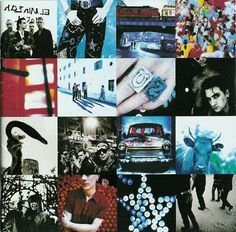 """Achtung Baby"" U2. Hear the chainsaw that chops down the Joshua Tree in the form of a guitar in the song 'The Fly'"