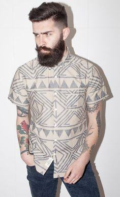 """Mom heard me say how hot guys with beards are and said """"Are you going to bring home a bearded, tattooed man?"""" My response: """"God, I hope so."""" #JustSaying"""