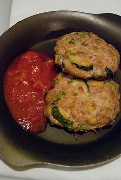 Polpette farro e zucchine by Elvira - Ciboulette, via Flickr
