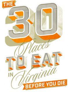 The 30 places to eat in Virginia before you die | HamptonRoads.com | PilotOnline.com