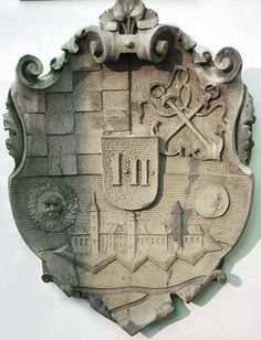 Coats of arms of the town of Karlovac, 19th century