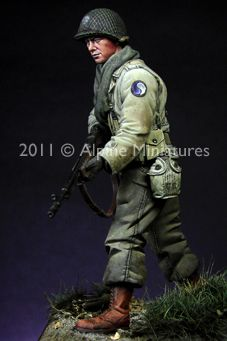 1/16th scale BAR Gunner from Alpine Miniatures! Click the picture to get yours
