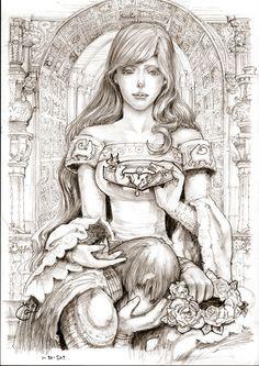 Lyanna Stark Game of Thrones by DubuGomdori.deviantart.com on @deviantART