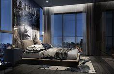 Modern Bedroom Design, Master Bedroom Design, Contemporary Bedroom, Dream Bedroom, Home Decor Bedroom, Bedroom Ideas, Bedroom Rustic, Dream Rooms, Master Suite