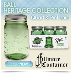 Pickling Recipes for Ball's Green Jars + a Giveaway