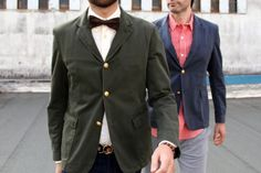 Band of Outsiders Gold Button Blazers