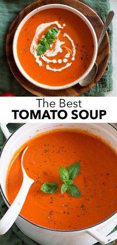 Best Tomato Soup, Cream Of Tomato Soup, Canned Tomato Soup, Tomato Soups, Tomato Bisque Soup, Fresh Tomato Recipes, Creamed Tomatoes Recipe, Stewed Tomatoes, Beef Recipes