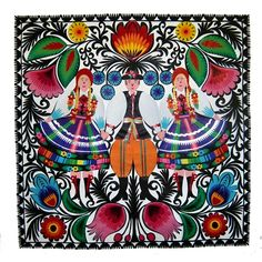 Wycinanki  - Polish cut paper art. I have a few pieces from Poland. handmade awesome.