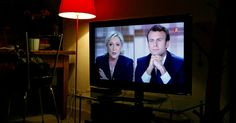 Emmanuel Macron and Marine Le Pen gave the voters fireworks, highlighting the sharp contrast between their views.