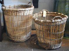 Vintage French Wicker & Bamboo Baskets – Detroit Garden Works
