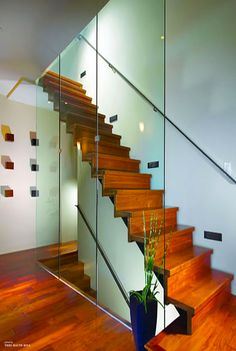 Contemporary staircase - Horst architects
