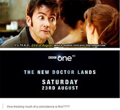 Moffat did that on purpose. Doctor Who Libra, The New Doctor, Never Stop Dreaming, Bbc One, Don't Blink, Geek Out, Coincidences, Dr Who, Superwholock