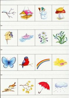 64031316_11 Seasons Activities, Activities For Kids, Weather For Kids, Preschool Puzzles, Little Einsteins, Creative Arts And Crafts, Learn Hebrew, Magazines For Kids, Montessori Materials