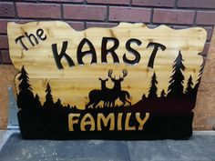 Custom wood signs can really brighten up a business or a household, offering advertising and style almost effortlessly. Custom Wood Signs, Wooden Signs, Cnc, House Plaques, Wooden Cottage, Cottage Signs, Sign Maker, Address Plaque, Toy Chest