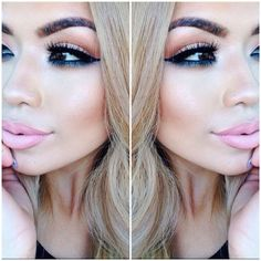 #ShareIG Just here with all this eyeshadow on  makeup details in later post! #iluvsarahii #haveaday!