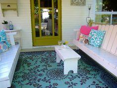 My porch~Spring