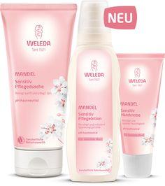 Im Fokus - Die neue Mandel Sensitiv Pflegeserie - Weleda