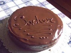 Sacher ripiena al cioccolato