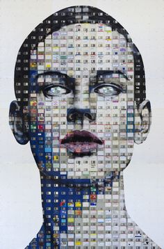 Artworks by London artist Nick Gentry
