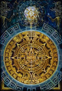 The Mayan Calendar consist of three similar calendars known as the Long count, The Tzolkin (divine calendar), and the Haab (civil calendar). Ancient Aliens, Ancient Art, Aztec Drawing, Aztecas Art, Aztec Culture, Aztec Warrior, Psy Art, Chicano Art, Aztec Tattoo Designs
