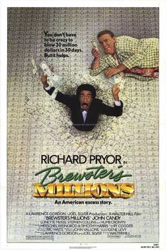 """""""'Brewster's Millions' with Richard Pryor and John Candy was originally released today on 22 May Comedy Movies On Netflix, 80s Movies, Great Movies, Movies Online, Movie Tv, Movie Props, Awesome Movies, Funny Movies, Movie List"""
