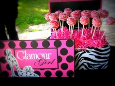 Oreo Truffle pops I made for AvaJanes Barbie Glamour Party