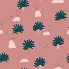 Little palm trees pattern