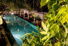 The Elysian Boutique Villa Hotel is unique to the beautiful island of Bali for its profound juxtaposition of separation and connectivity.