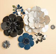 Flor de papel grande telón de fondo-único papel gigante de la