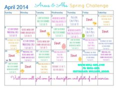 April Arms & Ab Spring Challenge | Well-Girl