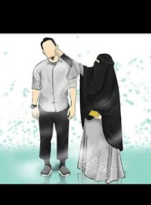 kumpulan kartun romantis parf 2 - my ely Muslim Couple Quotes, Cute Muslim Couples, Muslim Girls, Cute Couples, Cute Couple Cartoon, Cute Couple Art, Best Facebook Profile Picture, Muslim Pictures, Muslim Couple Photography