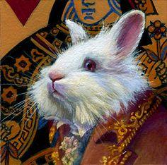 H Harrison; White Rabbit; Alice in Wonderland