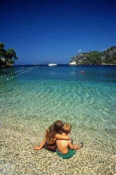 This place is a famous resort of Fethiye, Mugla, Aegean_ Turkey