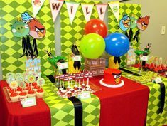 Angry Birds Birthday Party Ideas | Photo 9 of 10