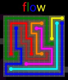 Flow Extreme Pack 2 - 12x12 - level 28 solution