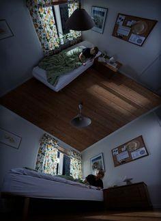 Surreal Optical Illusions Photography http://erikjohanssonphoto.com