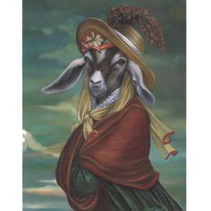 An online portfolio of oil paintings by Carol Lew, featuring portraits of animals in the manner of the Old World masters. Goat Gifts, Goat Art, Farm Art, Pet Rats, Canvas Prints, Art Prints, Canvas Art, Pet Portraits, Farm Animals