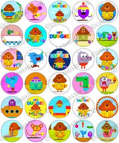 30 x Hey Duggee Fun Party Edible Rice Wafer Paper Cupcake Toppers First Birthday Party Themes, 2 Birthday Cake, 4th Birthday Parties, Wafer Paper, Paper Cupcake, Edible Cake Decorations, Edible Printing, Edible Cupcake Toppers, Best Part Of Me