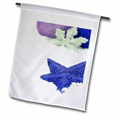 Yves Creations Christmas Decorations - Blue Christmas Star with Silver Snowflake - 18 x 27 inch Garden Flag (fl_77025_2) 3dRose http://www.amazon.com/dp/B00TR839R2/ref=cm_sw_r_pi_dp_3Tsdxb0BTK51C