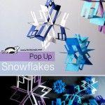 Pop+Up+snowflakes