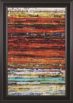 The Fields by Hilario Gutierrez Framed Painting Print